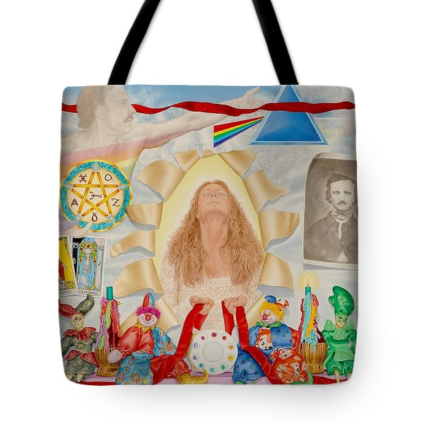 Invocation Of The Spectrum Tote Bag