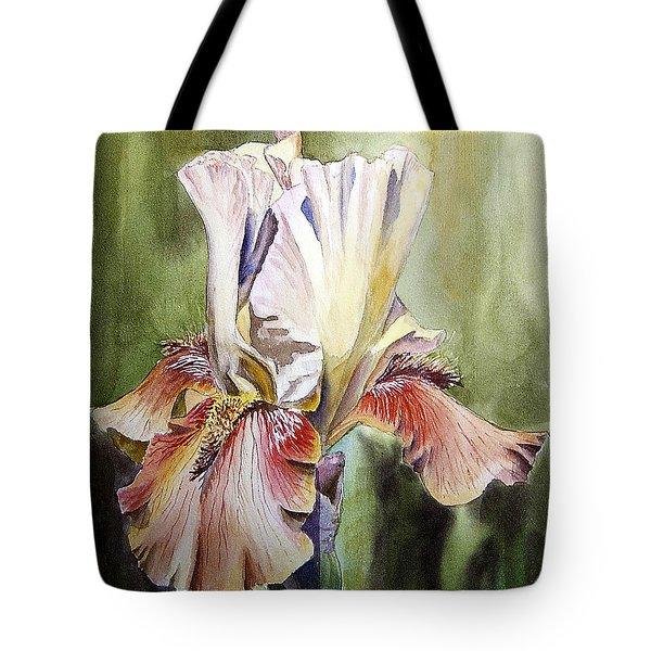 Iris Painting Tote Bag
