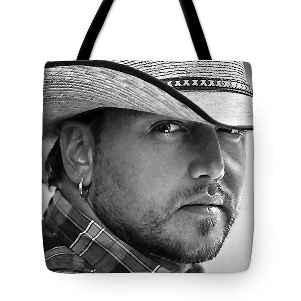 Jason Aldean Tote Bag