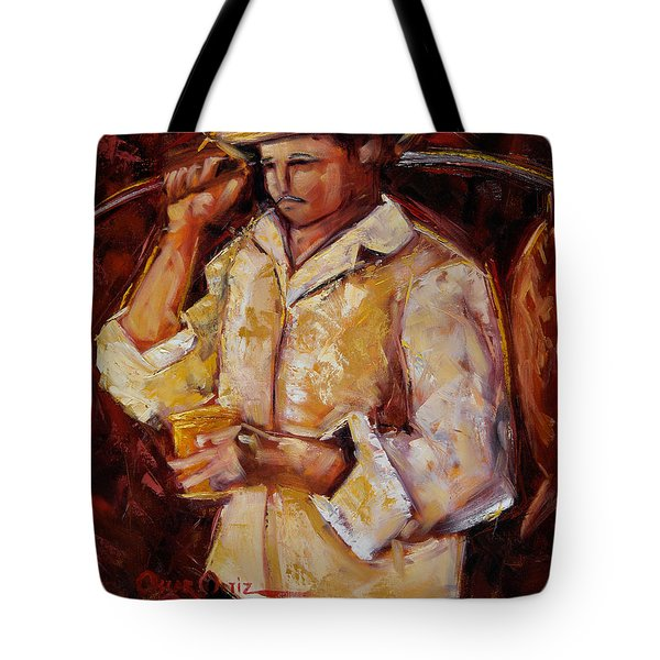 Jibaro De La Costa Tote Bag