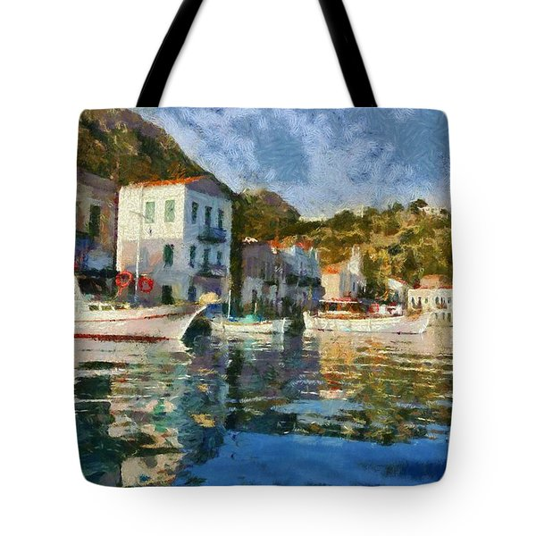 Kastellorizo Island Tote Bag