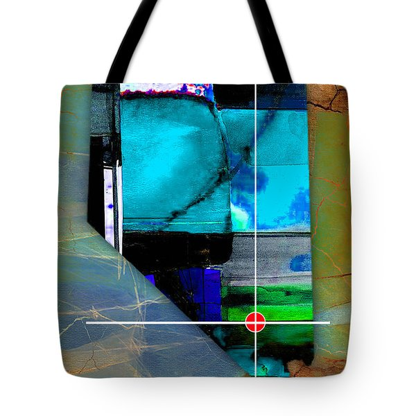 Las Vegas Nevada Map Watercolor Tote Bag by Marvin Blaine