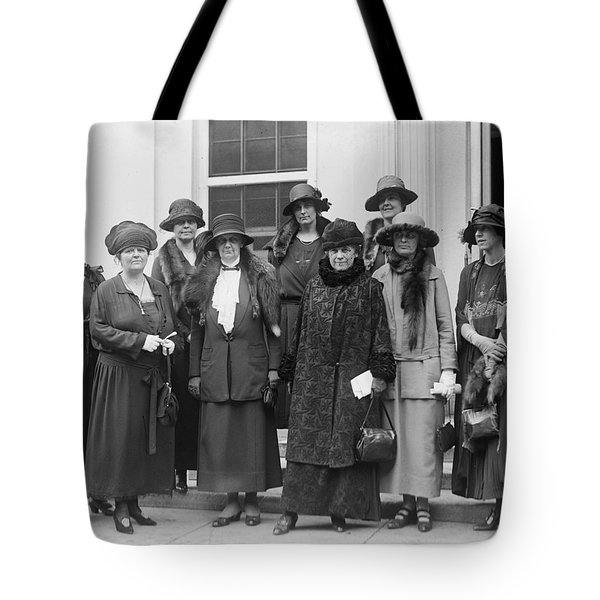 Tote Bag featuring the photograph League Of Women Voters by Granger