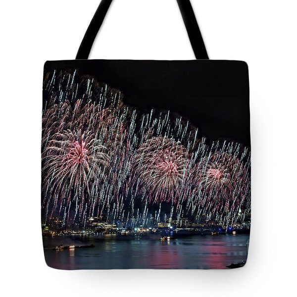 Let Freedom Ring Tote Bag by Susan Candelario
