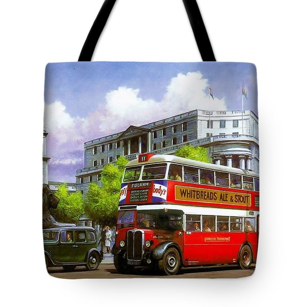 London Transport Stl Tote Bag by Mike  Jeffries