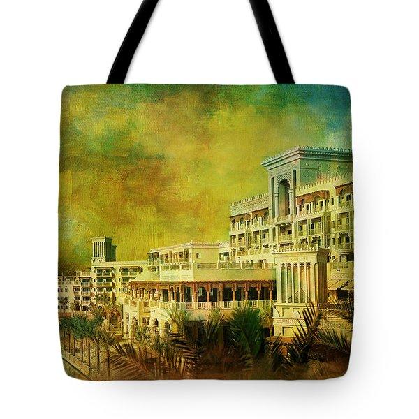 Madinat Jumeirah Tote Bag by Catf