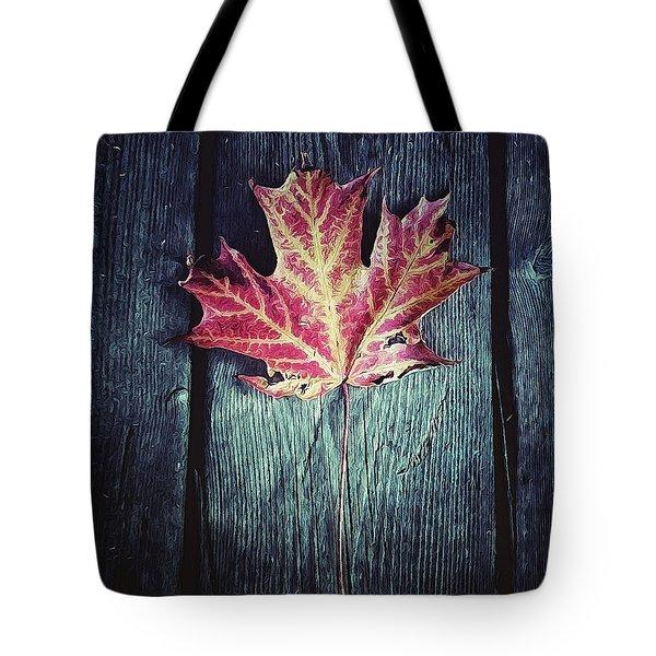 Maple Leaf Tote Bag by Natasha Marco