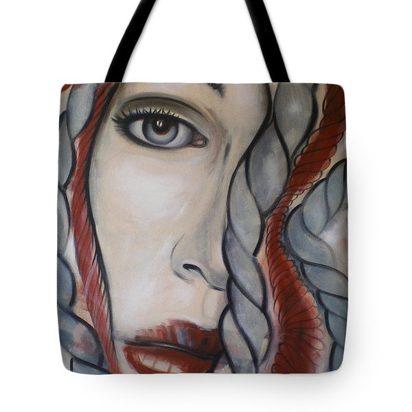 Melancholy 090409 Tote Bag by Selena Boron