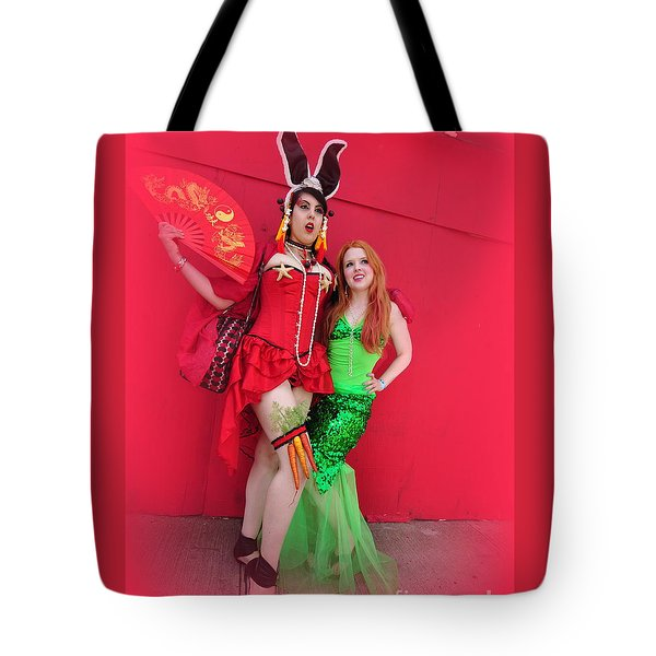 Mermaid Parade 2011 Tote Bag
