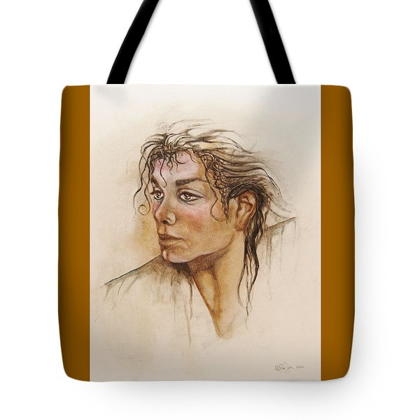 Michael Life Unfinished Tote Bag