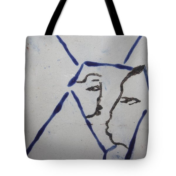Michelle - Tile Tote Bag by Gloria Ssali