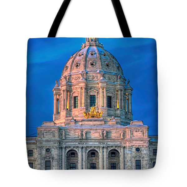 Minnesota State Capitol St Paul Tote Bag