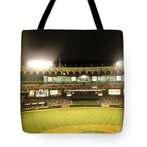 Tote Bag featuring the photograph Moon In The Arches by Kelly Awad