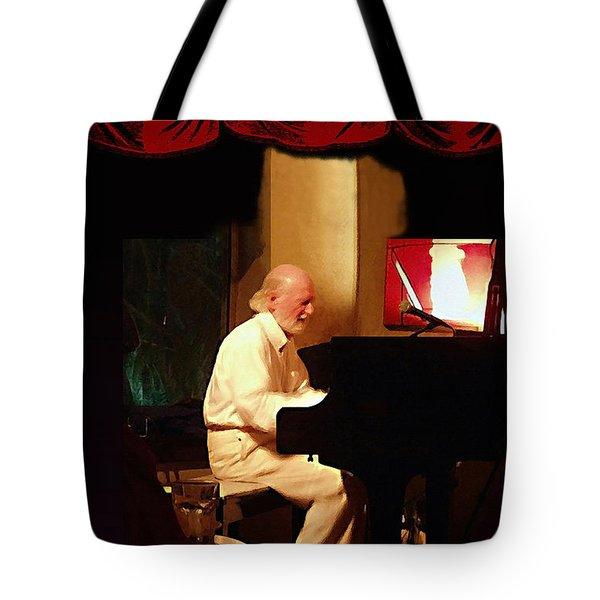 Mose Allison Tote Bag by Ellen Henneke