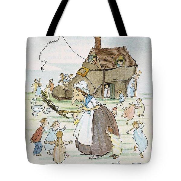 Mother Goose, 1913 Tote Bag by Granger