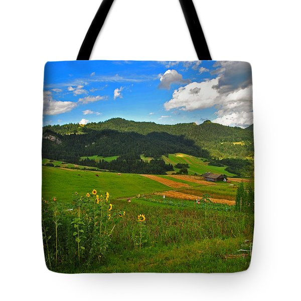 Rolling Green Hills Tote Bag