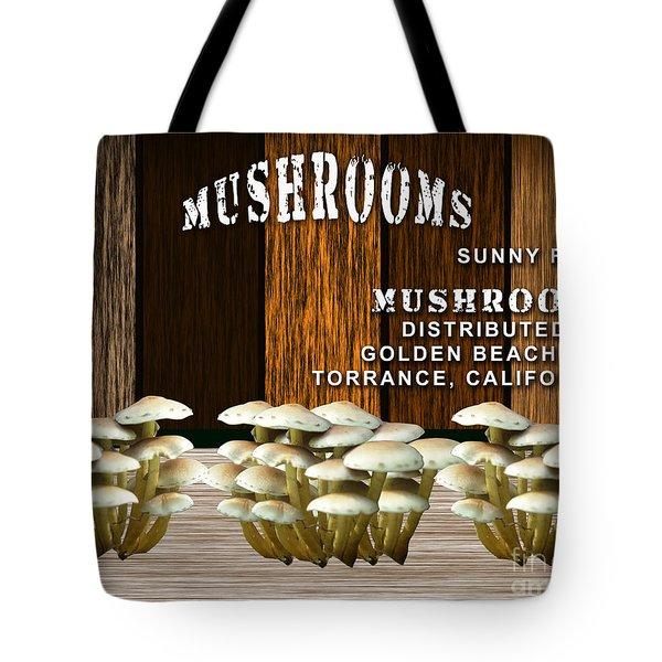 Mushroom Farm Tote Bag