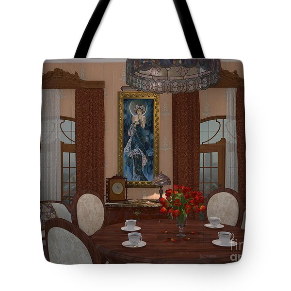 My Art In The Interior Decoration - Elena Yakubovich Tote Bag by Elena Yakubovich