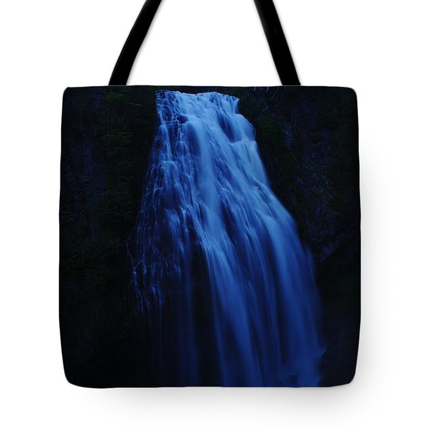 Narada Falls Tote Bag by Jeff Swan