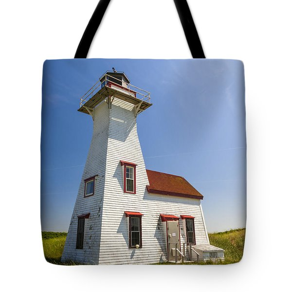 New London Range Rear Lighthouse Tote Bag