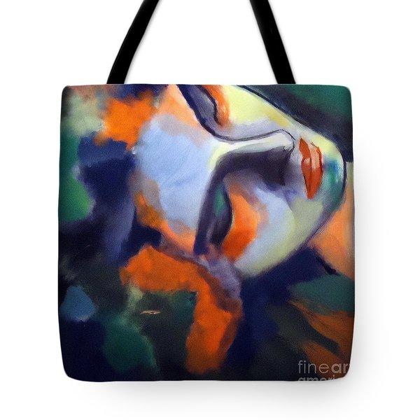 Nightfall Tote Bag by Helena Wierzbicki