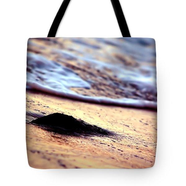 Ocean In Sunshine Tote Bag by Michal Bednarek