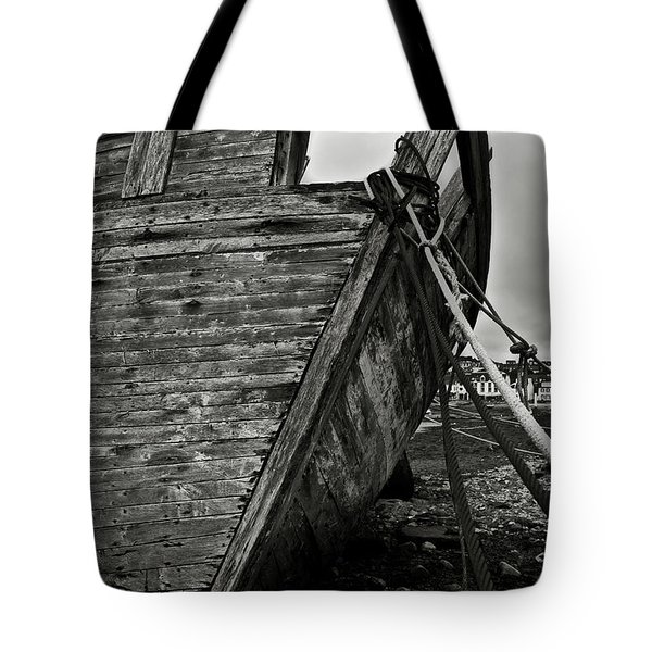 Old Abandoned Ship Tote Bag