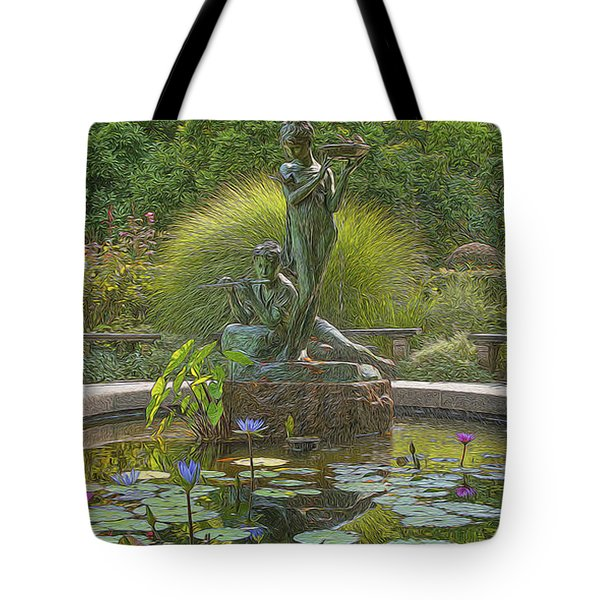 Park Beauty Tote Bag