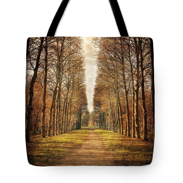Path In The Woods / Versailles Tote Bag