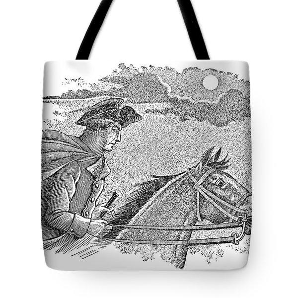 Paul Reveres Ride Tote Bag by Granger