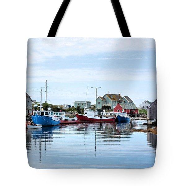 Peggys Cove Tote Bag by Kristin Elmquist