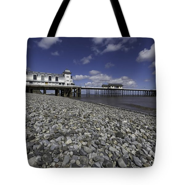 Penarth Pier 2 Tote Bag