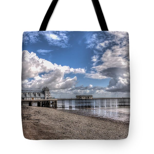 Penarth Pier 3 Tote Bag