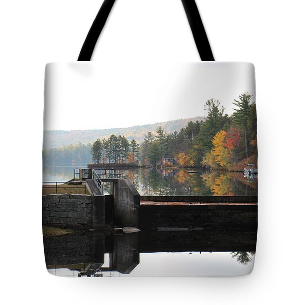 Pine River Pond  Tote Bag