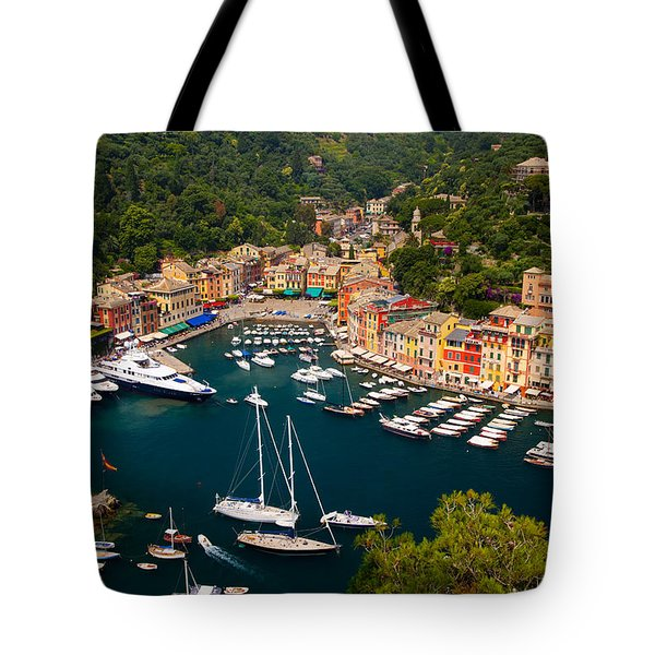 Tote Bag featuring the photograph Portofino by Brian Jannsen