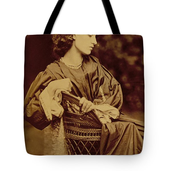 Portrait Of Jane Morris Tote Bag by John Parsons