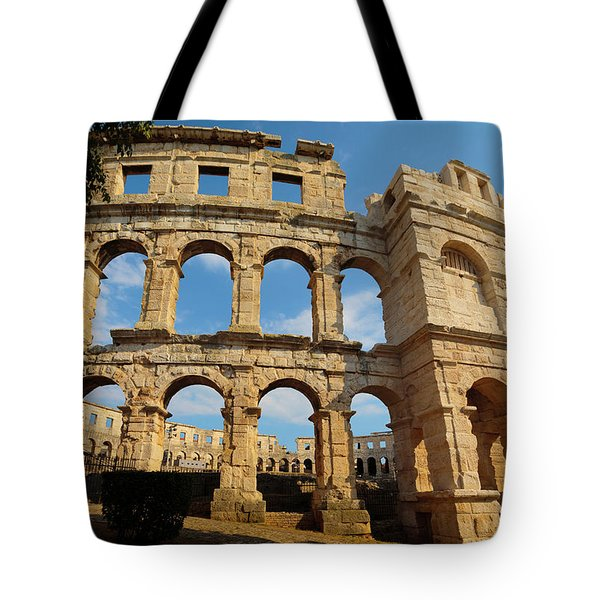 Pula, Istria County, Croatia. The Roman Tote Bag