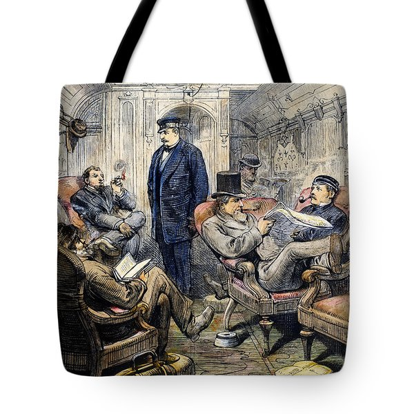 Pullman Car, 1876 Tote Bag by Granger
