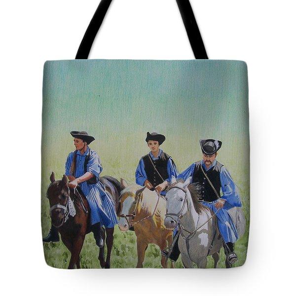 Puszta Cowboys Tote Bag