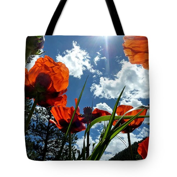 Red White And Blue Tote Bag