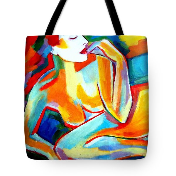 Tote Bag featuring the painting Repose by Helena Wierzbicki