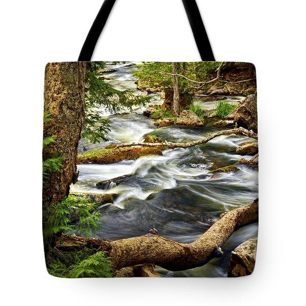 River Rapids Tote Bag