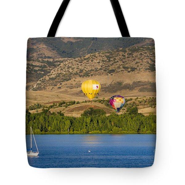 Rocky Mountain Balloon Festival Tote Bag