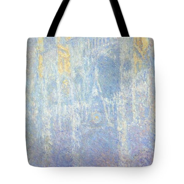 Rouen Cathedral Tote Bag by Claude Monet