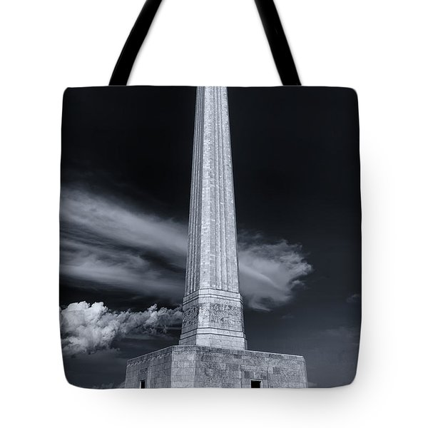 San Jacinto Monument One Sky One Star Tote Bag