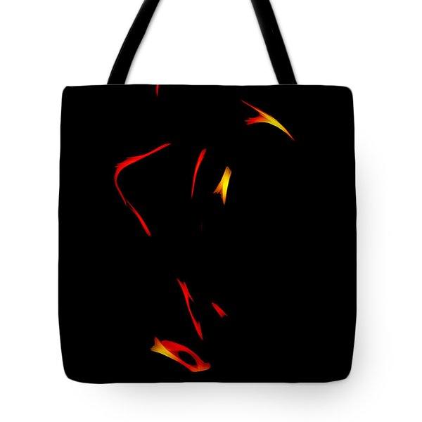 Sax In The Dark Tote Bag