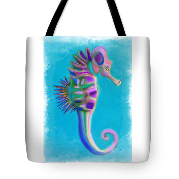 The Pretty Seahorse Tote Bag