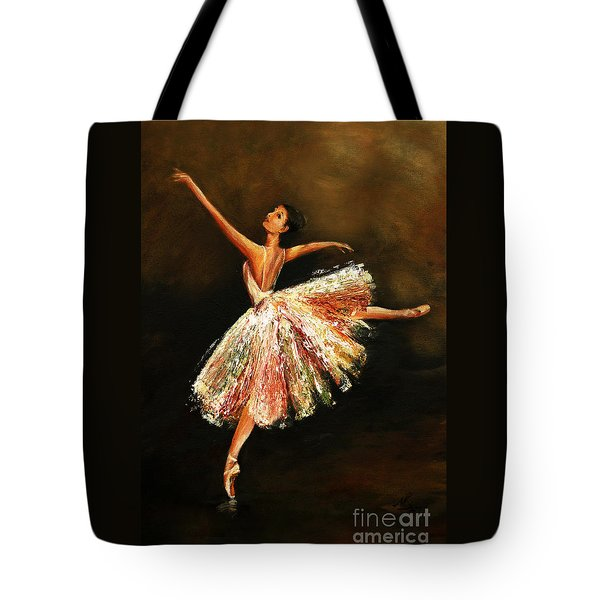 Second Arabesque Tote Bag