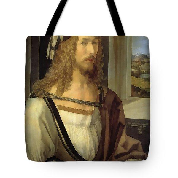 Self Portrait Tote Bag by Albrecht Durer