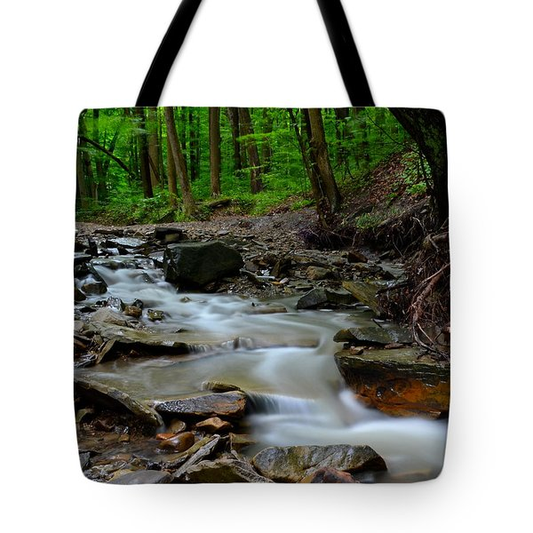 Serenity Tote Bag by Frozen in Time Fine Art Photography